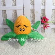 New 15cm Corn Zombie Figures Of Plants Vs Zombies, Zombie Plush Toy Doll
