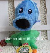 Plants Vs Zombies Plush Ice Shooter Toys Dolls 17cm