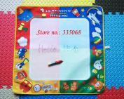 Playing Mat / 70x69cm Big Colourful Water Drawing Board/ Aqua Doodle Water Pen/ Magic Doodle Mat / Water Writing Mat