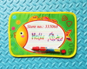 29x19cm Mini Colourful Water Drawing Board/ Play Mat/ Aqua Doodle Water Pen/ Magic Doodle Mat / Playing Mat / Writing Mat