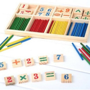 1pceducational Wood Figure Arithmetic Math Toys For Children Fancy Toys Fz2065