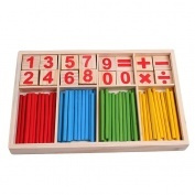 1pceducational Wood Figure Arithmetic Math Toys For Children Fancy Toys Fz2065 Nx