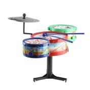 Children Musical Instruments Toy Kids Colourful Plastic Drum Drum Kit Set K5bo