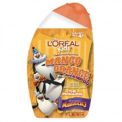 L'Oreal Kids Madagascar 3 Extra Gentle 2-in-1 Shampoo, Mango Orange (Penguins) 270ml