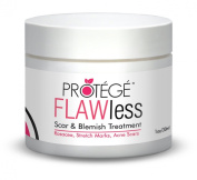 FLAWless Scar Gel Cream - Best for Removal of New and Old Acne and Surgery Scars - Flattens and Softens Scars, Keloids, Blemishes - Guaranteed  .   Scar Oil