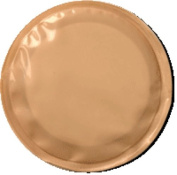 Secure Health Products Kontiba Stoma Cap with Absorbent Pad 20mm to 50mm, Beige, Hypoallergenic