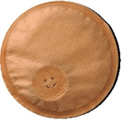 Secure Health Products Kontiba Stoma Cap with filter 25mm to 50mm, 40mL, Absorbent Pad, Beige, Hypoallergenic