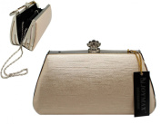 Champagne Pink Clutch Purse