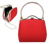 Red Posh Cocktail Purse