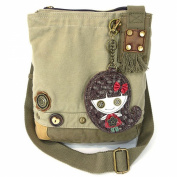 Patch Crossbody Bag-smiley Girl