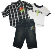 Blac Label Baby Boy's 3 Piece Pant Set