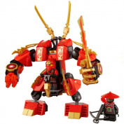 Bela 9790 Kay Flame Mecha, Final Phantom Ninja, 105 Pcs/set, Educational Building Blocks Toys, Children's Christmas