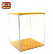 Loz Diamond Granule Loz Blocks Transparent Box Display Box Base Plate