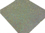 2000 2mm Sheet of Self Adhesive Ab Clear Diamante Stick on Rhinestone Gems Craft