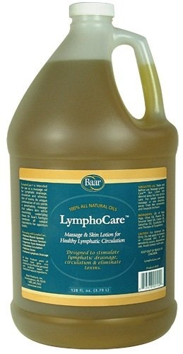 LymphoCare, Massage & Skin Lotion for Healthy Lymphatic Circulation, Gallon