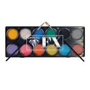 Diamond FX 12 Colour Palette - Metallics