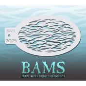 Bad Ass Furry Mini Stencil BAM2025