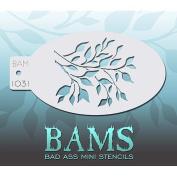Bad Ass Tree Mini Stencil BAM1031
