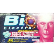 BiElectro Extra Strength Nighttime Sleep Aid / Pain Reliever / Acetaminophen 24 Caps