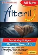Alteril Natural Sleep Aid Liquid Gelcaps 60ct