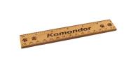 Komondor 15cm Alder Wood Ruler