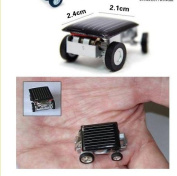 The World's Smallest Car Solar Powered Educational Mini Toy Car Solar Toy Children Gift