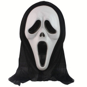 Redleaf Ghost Scream Face Mask Costume Party Dress Halloween Worldwide