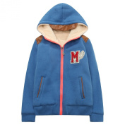 Richie House Boy's Coat with Short Fleece to Warm RH1420