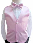 Classykidzshop Solid Vest and Bow Ties in Assorted Colours