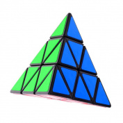 Shengshou Triangle Pyramid Pyraminx Magic Cube - Black Puzzle Educational Toy Special Toys