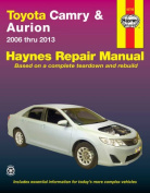 Toyota Camry & Aurion Automotive Repair Manual