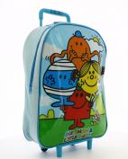 Mr Men & Little Miss Wheeled Trolley Bag
