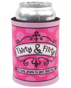 Thirty & Flirty Can Cooler
