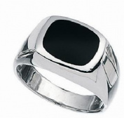 Black Onyx Silver Men,s Ring Sizes 8 up to 13 You Choose