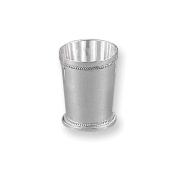 Silver-plated Beaded Mint Julep Cup