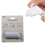 1 Plastic Rolling Toothpaste Tube Easy Squeezer Dispenser Holder Sucker Hanger !