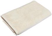 SALBAKOS Luxury Spa 100% Combed Turkish Cotton Large Oversized Eco-Friendly Bath Sheet 100cm x 200cm , Ivory