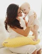 Nursing Pillow Yellow Breastfeeding Maternity Twin Support Pillow
