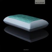 Z® Gel-Infused Dough® Memory Foam Pillow With Double Z-Gel Liquid Gel Packets - 5-year Warranty - Queen