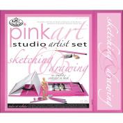 Royal and Langnickel Pink Art Sketching and Drawing Studio Artist Set