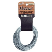 1mm Satin Rattail Braiding Cord Silver 6 Yards For Kumihimo and Craft 420210