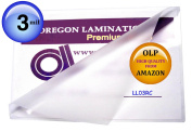 3 Mil Legal Laminating Pouches 9 x 13.7ly 100 Hot Laminator Sleeves