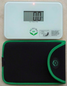 NewlineNY Step On Super Mini Travel Bathroom Scale with Protection Sleeve