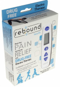Rebound Health - Electrotherapy Pain Relief Device - FDA Cleared OTC TENS Unit - Non-Prescription - For Chronic or Acute Joint and Muscle Pain - Use as Often and Long as Needed