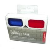 Kikkerland 3D Glasses Contact Lens Case