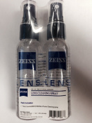 Set of 2 Carl Zeiss Lens Cleaning Spray 2oz - 60ml