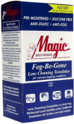 Lens Cleaning Fog-Be-Gone Towelettes 100 Per Box by Magic Safety - MS93160