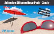 Premium Grade Silicone Half Moon Nose Pads