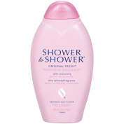 Shower to Shower Original Fresh Absorbent Body Powder, 380ml