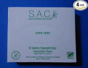 Sanitary Napkin Disposal Bags pack of 4